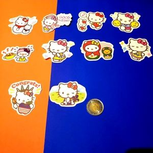 3/$20 10x brand new Hello Kitty waterproof sticker